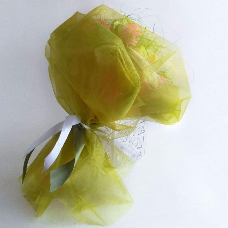 Букет из конфет: В нежной гамме